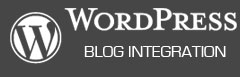 Wordpress Blog Integration